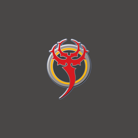 Skorne Faction Logo Pin