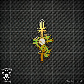 Asphyxious Logo Pin