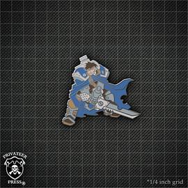 Magnus the Traitor Alt Pin