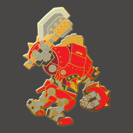 Juggernaut Pin