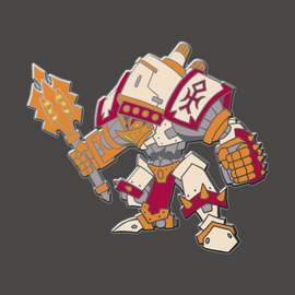 Crusader Pin