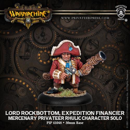Lord Rockbottom, Expedition Financier