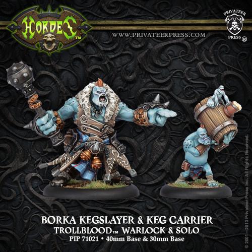 Borka Kegslayer & Keg Carrier