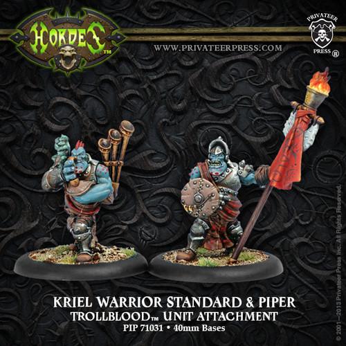 Kriel Warrior Standard & Piper