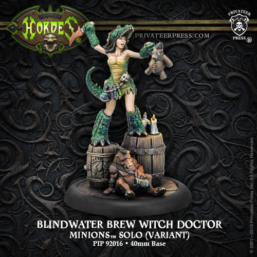 Blindwater Brew Witch Doctor Exclusive