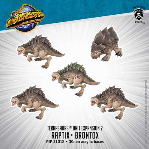 Terrasaurs Unit:  Raptix & Brontox