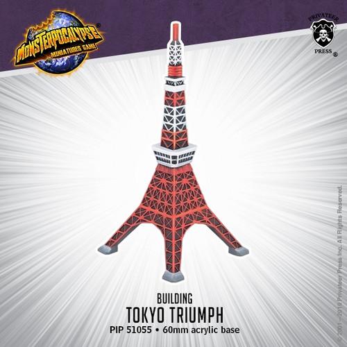 Monsterpocalypse Building - Tokyo Triumph