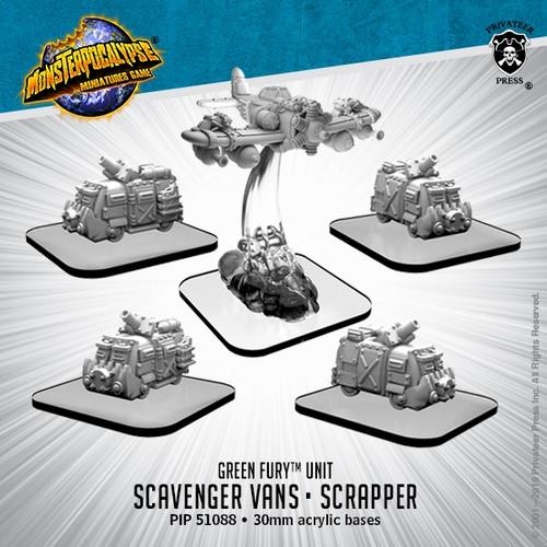 Green Fury Units: Scavenger Vans and Scrapper