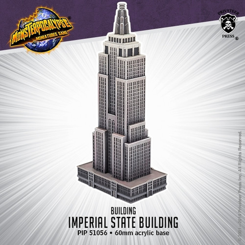 Monsterpocalypse Building - Imperial State Building