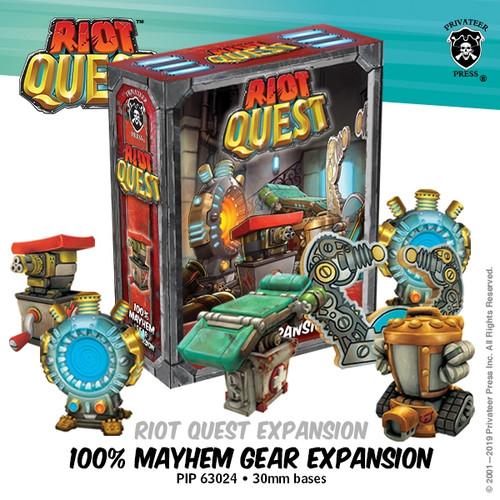 Riot Quest: 100% Mayhem Gear Expansion