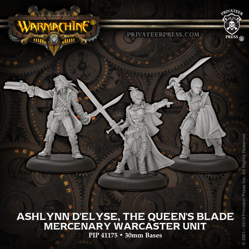 Ashlynn d'Elyse, the Queen's Blade