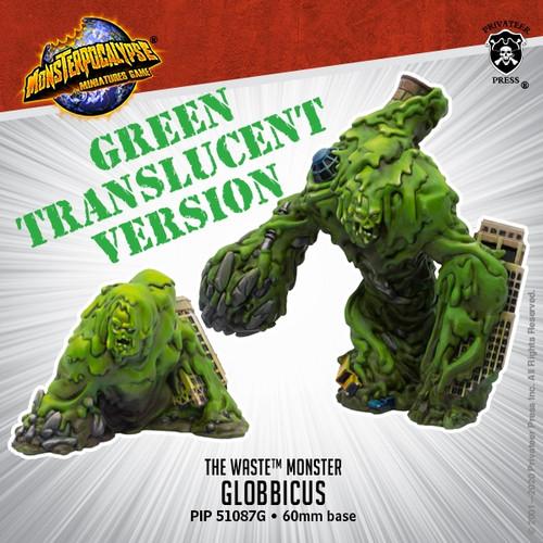 Clear Green Globbicus