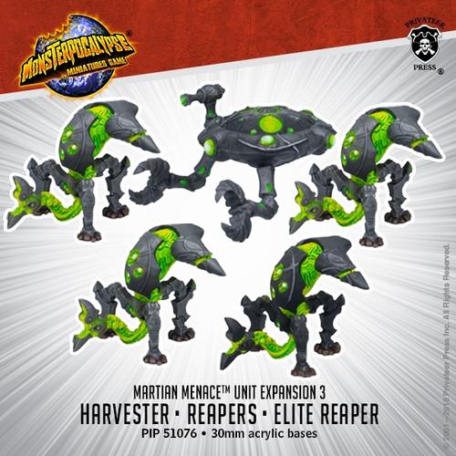 Martian Menace Units: Reapers & Harvester