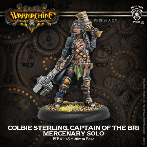 Colbie Sterling, Captain of the BRI