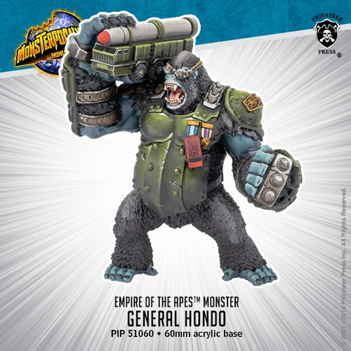 Empire of the Apes Monster: General Hondo