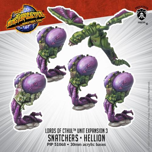 Lords of Cthul Units: Snatchers & Hellion
