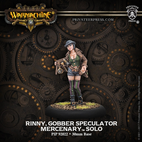 Rinny, Gobber Speculator Exclusive