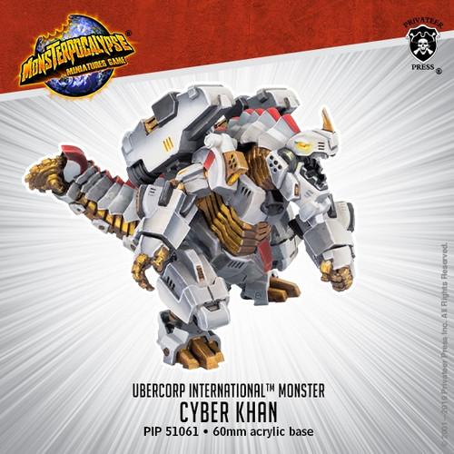 Uber Corp International Monster: Cyber Khan