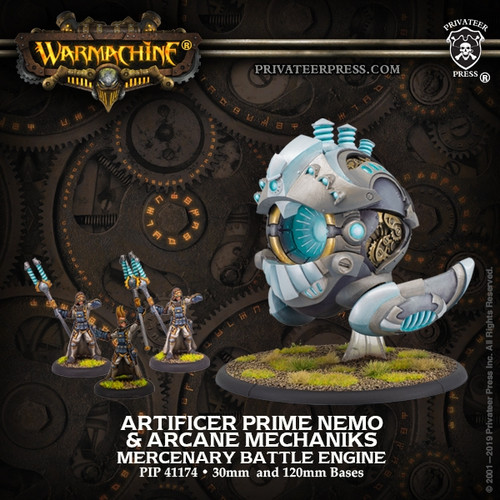 Prime Artificer Nemo & Arcane Mechaniks