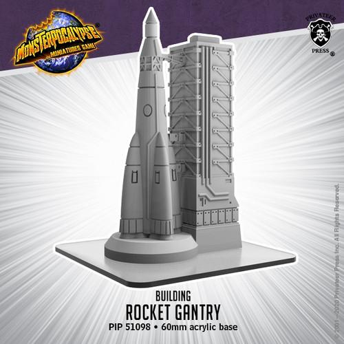 Monsterpocalypse Rocket Gantry Building