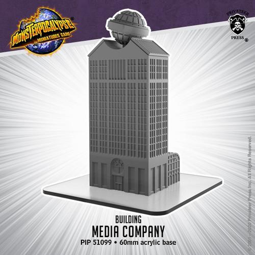 Monsterpocalypse Media Company Building