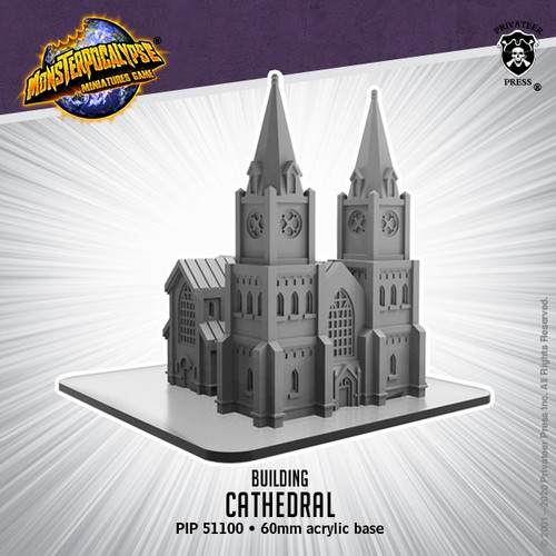 Monsterpocalypse Cathedral Building