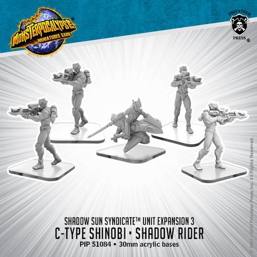 Shadow Sun Units: C-Type Shinobi and Shadow Rider