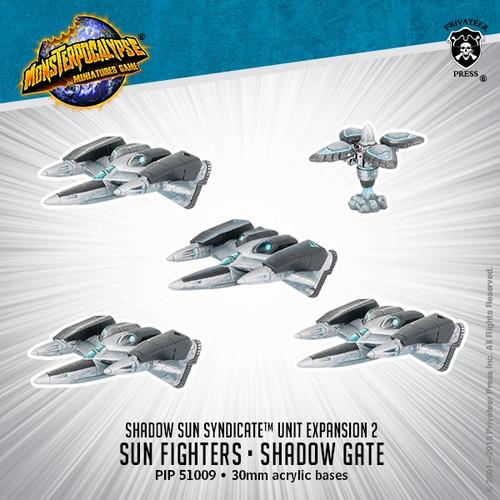 Shadow Sun Syndicate Unit: Sun Fighter & Shadow Gate