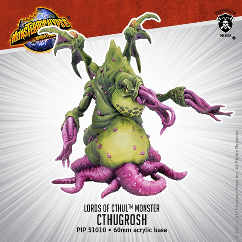 Lords of Cthul Monster: Cthugrosh