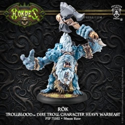 Rök - Trollbloods Character Heavy Warbeast