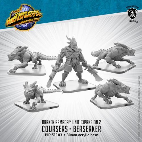 Draken Armada Unit: Coursers and Berserker