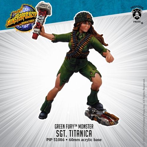 Green Fury Monster: Sergeant Titanica