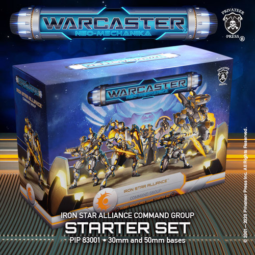 Iron Star Alliance Command Group Starter Set