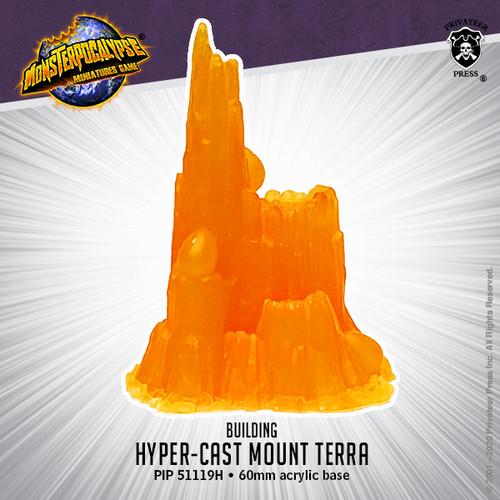Monsterpocalypse Building -  Hyper-Cast Mount Terra
