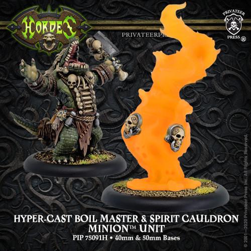 Hyper-Cast Gatorman Boil Master & Spirit Cauldron