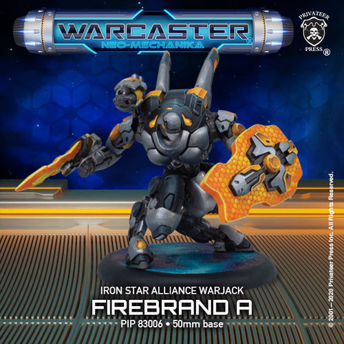 Firebrand A – Iron Star Alliance Light Warjack