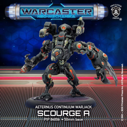 Scourge A – Aeternus Light Warjack