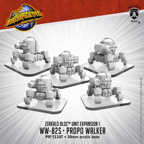 Zerkalo Bloc Unit: WW82s and Propo Walker