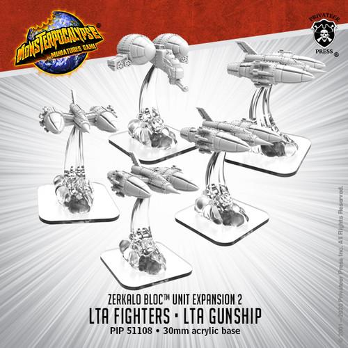 Zerkalo Bloc Unit:  LTA Fighters and LTA Gunship