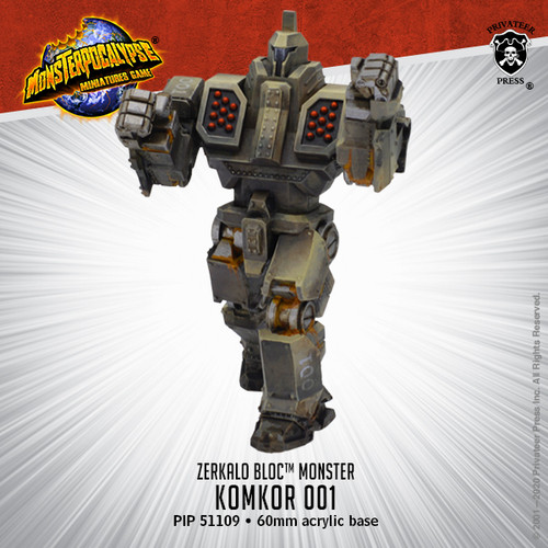 Zerkalo Bloc Monster: Komkor 001