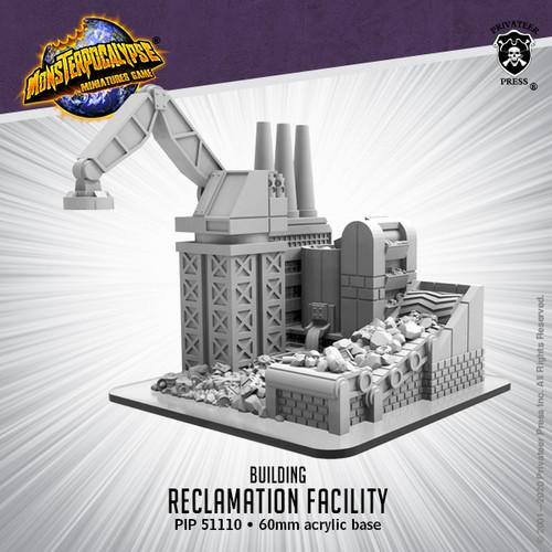 Monsterpocalypse Building -  Reclamation Facility