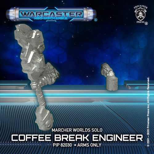 Combat Engineer: Coffee Break (arms only)