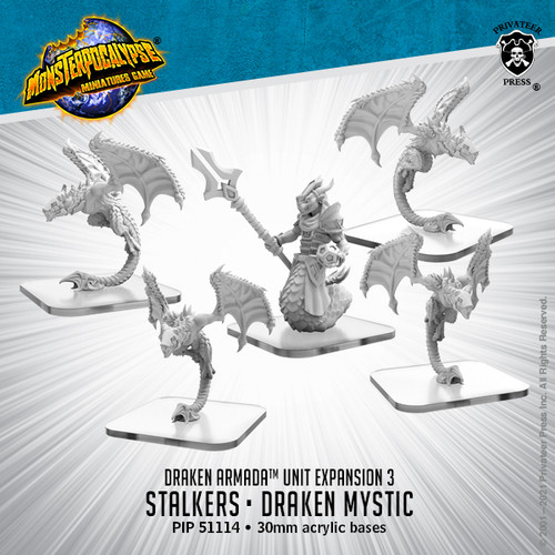 Draken Armada Unit: Stalkers and Draken Mystic