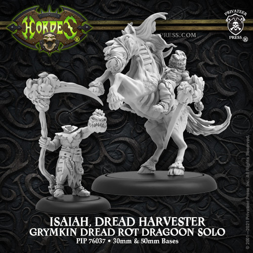 Isaiah, Dread Harvester – Grymkin Solo