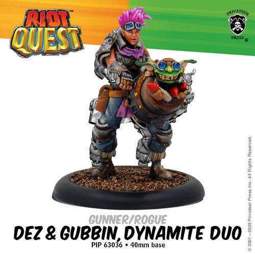 Dez and Gubbin, Dynamite Duo