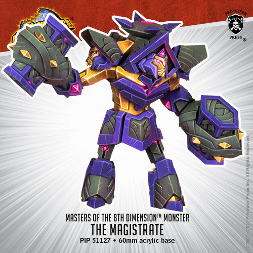 Masters of the 8th Dimension Monster: The Magistrate