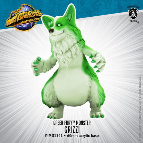 Green Fury Monster: Grizzi