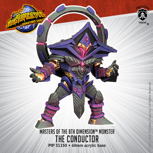 Masters of the 8th Dimension Monster: The Conductor