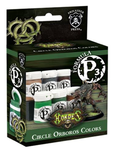 Formula P3 Paint: Circle Orboros Colors