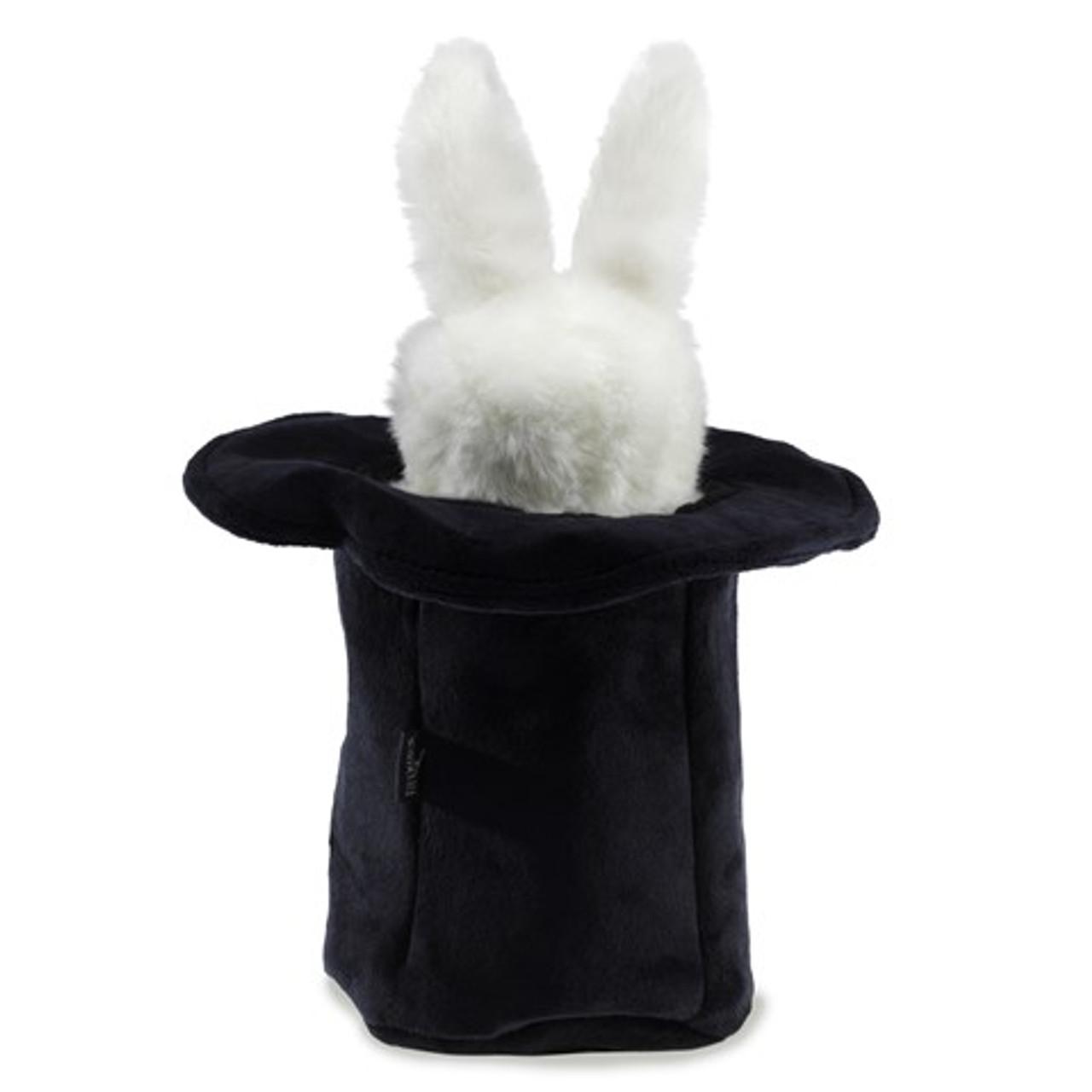 Rabbit in Hat Finger Puppet - F020B50